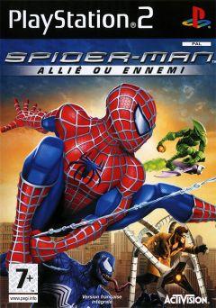 Jaquette de Spider-Man : Allié ou Ennemi PlayStation 2