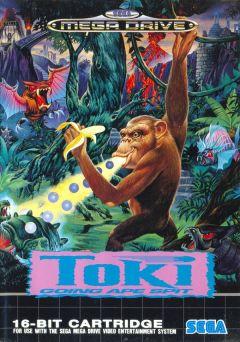 Jaquette de Toki Mega Drive