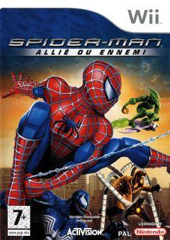 Jaquette de Spider-Man : Allié ou Ennemi Wii