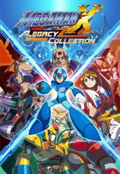 Jaquette de Mega Man X Legacy Collection Nintendo Switch