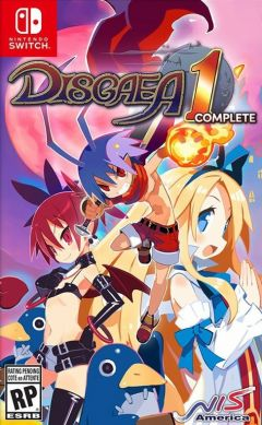 Jaquette de Disgaea 1 Complete Nintendo Switch