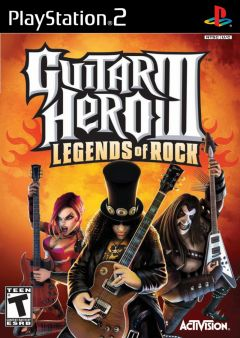 Jaquette de Guitar Hero III : Legends of Rock PlayStation 2