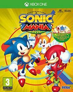 Jaquette de Sonic Mania Plus Xbox One