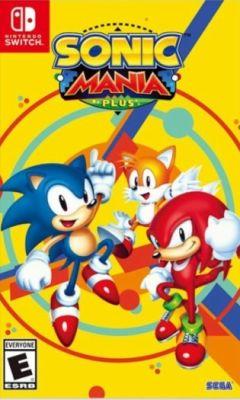 Jaquette de Sonic Mania Plus Nintendo Switch