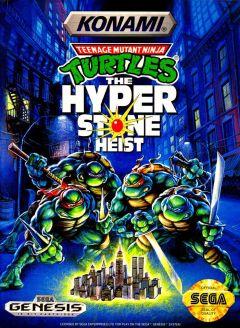 Jaquette de Teenage Mutant Ninja Turtles : The HyperStone Heist Mega Drive