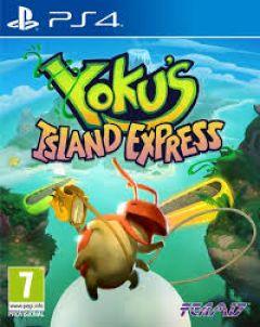 Jaquette de Yoku's Island Express PS4