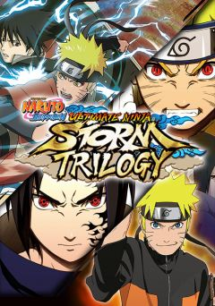 Jaquette de Naruto Shippuden Ultimate Ninja Storm Trilogy PC