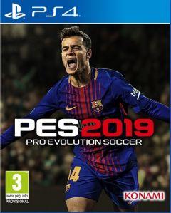Jaquette de PES 2019 PS4