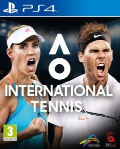 Jaquette de AO International Tennis PS4