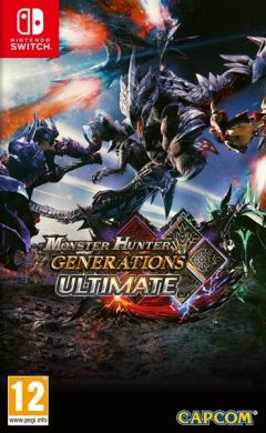 Jaquette de Monster Hunter Generations Ultimate Nintendo Switch