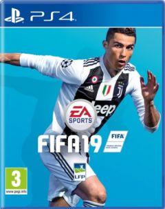 Jaquette de FIFA 19 PS4