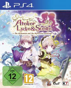 Jaquette de Atelier Lydie & Suelle : The Alchemists and the Mysterious Paintings PS4