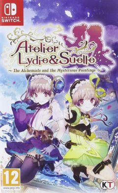 Jaquette de Atelier Lydie & Suelle : The Alchemists and the Mysterious Paintings Nintendo Switch