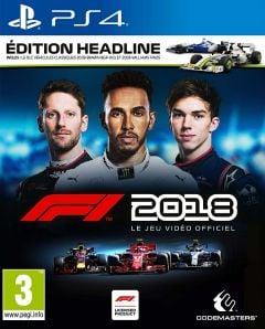 Jaquette de F1 2018 PS4
