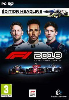 Jaquette de F1 2018 PC