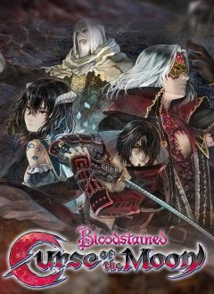 Jaquette de Bloodstained : Curse of the Moon PS4