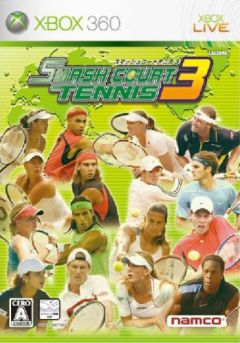 Jaquette de Smash Court Tennis 3 Xbox 360