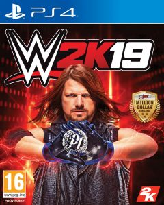 Jaquette de WWE 2K19 PS4
