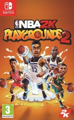 Jaquette de NBA 2K Playgrounds 2 Nintendo Switch