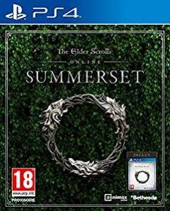 Jaquette de The Elder Scrolls Online : Summerset PS4