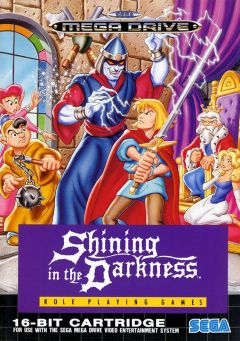 Jaquette de Shining in the Darkness Mega Drive