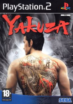 Jaquette de Yakuza PlayStation 2