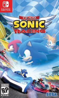 Jaquette de Team Sonic Racing Nintendo Switch