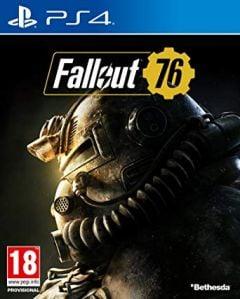 Jaquette de Fallout 76 PS4