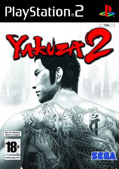Jaquette de Yakuza 2 PlayStation 2