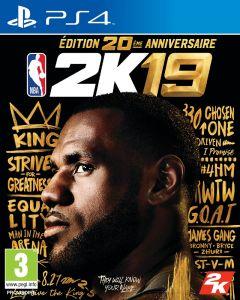Jaquette de NBA 2K19 PS4
