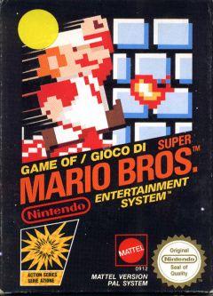 Jaquette de Super Mario Bros. NES