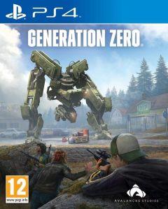 Jaquette de Generation Zero PS4