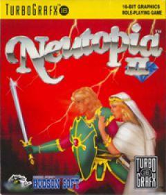 Jaquette de Neutopia II PC Engine