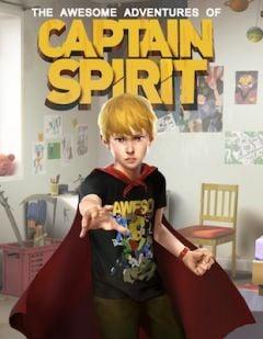 Jaquette de Les Aventures Extraordinaires de Captain Spirit PC