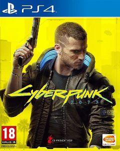 Jaquette de Cyberpunk 2077 PS4