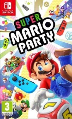 Jaquette de Super Mario Party Nintendo Switch