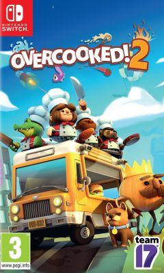 Jaquette de Overcooked 2 Nintendo Switch