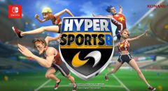Jaquette de Hyper Sports R Nintendo Switch
