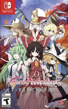 Jaquette de Touhou Genso Wanderer Reloaded Nintendo Switch