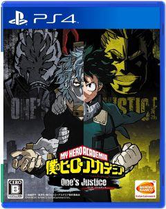 Jaquette de My Hero : One's Justice PS4