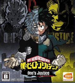 Jaquette de My Hero : One's Justice Nintendo Switch