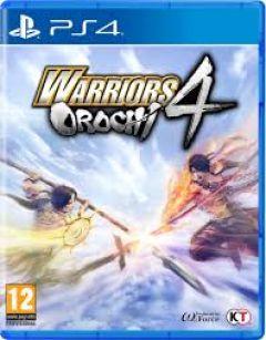 Jaquette de Warriors Orochi 4 PS4