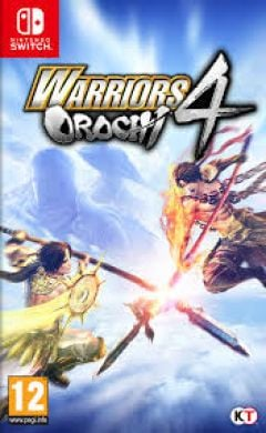 Jaquette de Warriors Orochi 4 Nintendo Switch