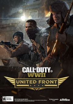 Jaquette de Call of Duy WWII : The United Front Xbox One