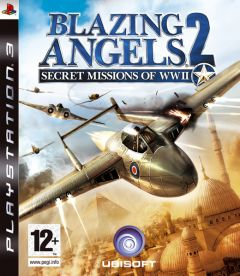 Jaquette de Blazing Angels 2 : Secret Missions of WWII PlayStation 3
