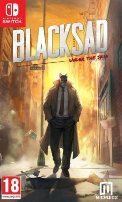 Jaquette de Blacksad : Under the Skin Nintendo Switch