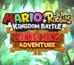 Jaquette de Mario + The Lapins Crétins Kingdom Battle - Donkey Kong Adventure Nintendo Switch
