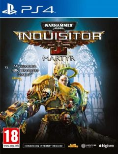 Jaquette de Warhammer 40,000: Inquisitor - Martyr PS4