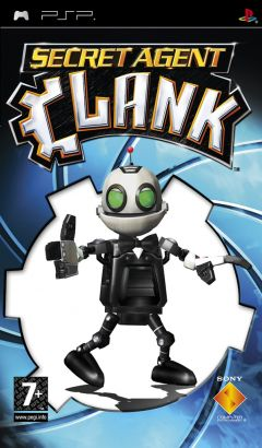 Jaquette de Secret Agent Clank PSP