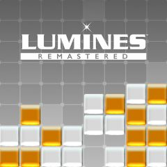 Jaquette de Lumines Remastered PS4